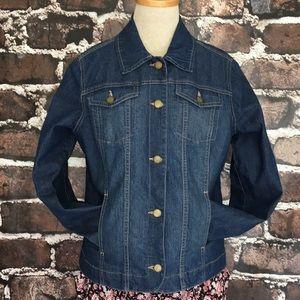 a67def517f40 Jean Jacket Croft Barrow denim blue pockets medium